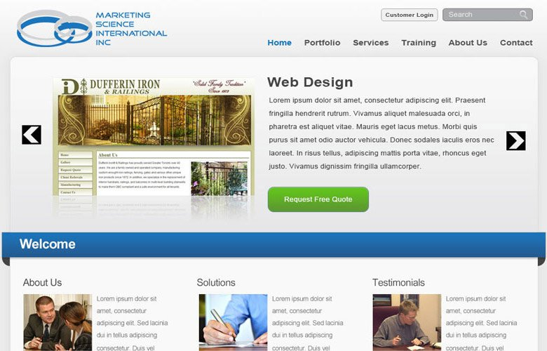 The Marketing Science International Inc Website