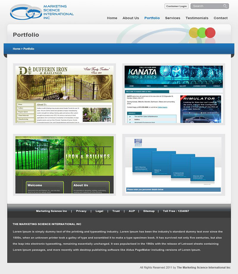 MSII - Portfolio Page